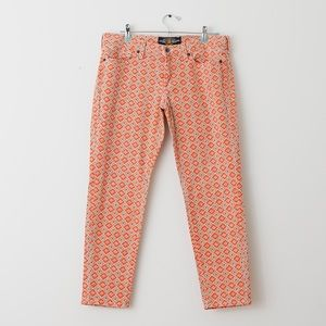 Lucky Brand Printed Denim